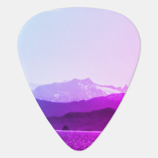 Purple Mountains Guitar Pick