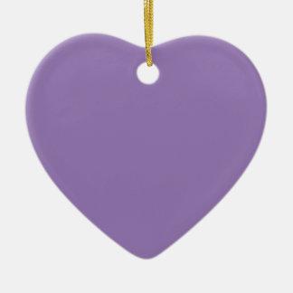 Purple Mountain's Majesty Heart Ornament