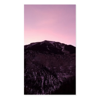 purple mountains majesty memorial funeral card pack of standard business cards