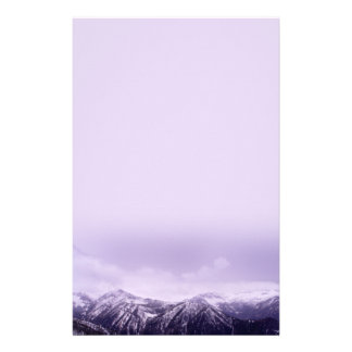 Purple Mountains Majesty Stationery