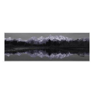 "Purple  Mountains Photo Print @ ""Lighthouse Route"""