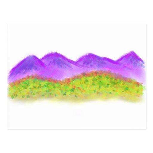 Purple Mountains Postcards