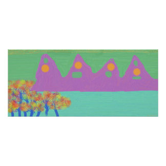 Purple Mountains Poster