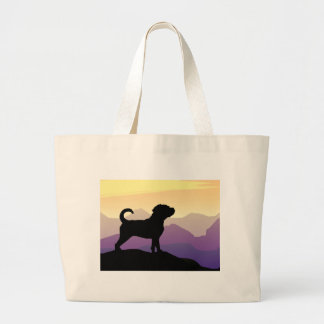 Purple Mountains Puggle Dog Bags
