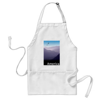 Purple Mountains Standard Apron