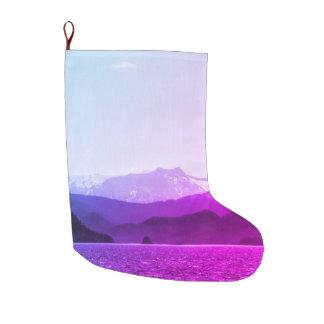 Purple Mountains Stocking