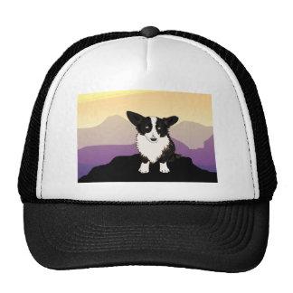Purple Mountains Welsh Corgi Trucker Hat