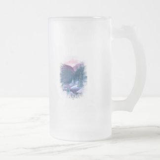 Purple Mountains with Snow Coffee Mug