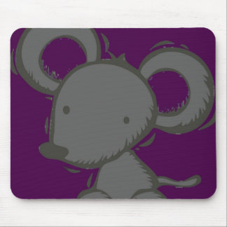 Purple Mouse Mousemat