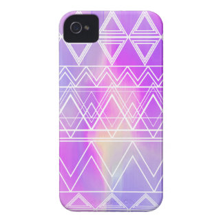 Purple Multi Tribal iPhone 4 Case