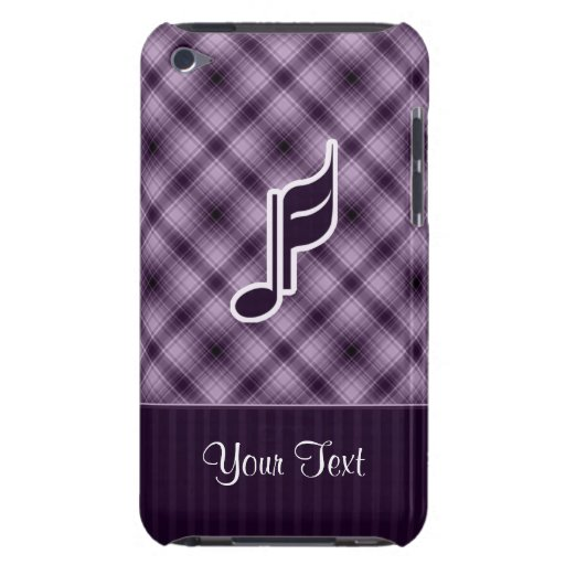 Purple Music Note iPod Touch Cover