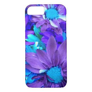 Purple N Turquoise Bouquet iPhone 8/7 Case