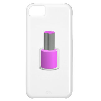 Purple Nail Polish Case For iPhone 5C