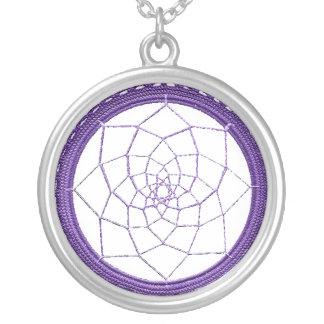 Purple Native American Dream Catcher Custom Jewelry