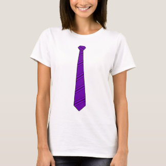 Purple Necktie Shirt