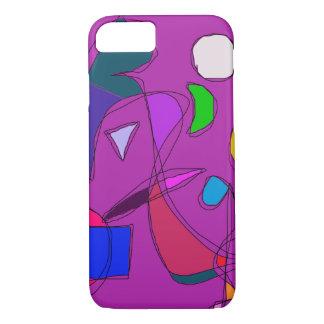 Purple Night Sky iPhone 7 Case