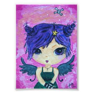 Purple Nightshade Print Photo