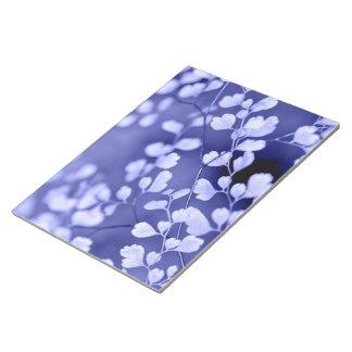 Purple notepad