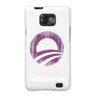 Purple O Faded.png Samsung Galaxy S2 Case