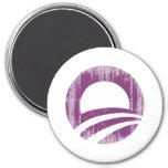 Purple O Faded.png Fridge Magnet