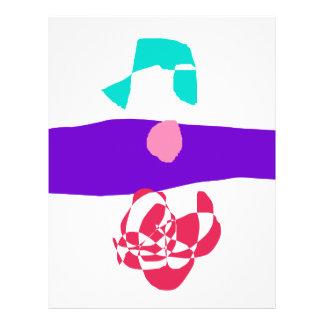 Purple Ocean 21.5 Cm X 28 Cm Flyer