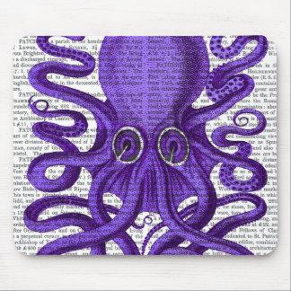 Purple Octopus Mouse Mat