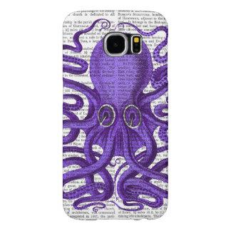 Purple Octopus Samsung Galaxy S6 Cases