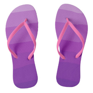 Purple Ombre Flipflops