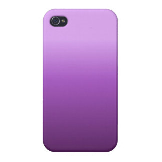 Purple Ombre iPhone Case Cover For iPhone 4