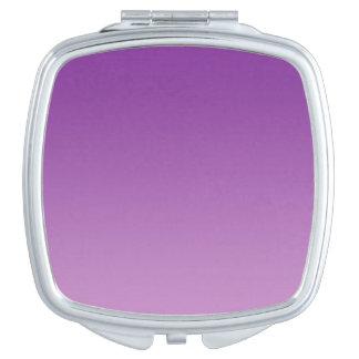 Purple Ombre Makeup Mirror