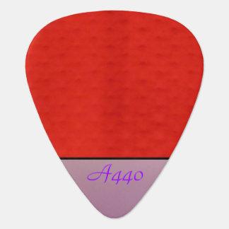 Purple on Purple Guitar Pick