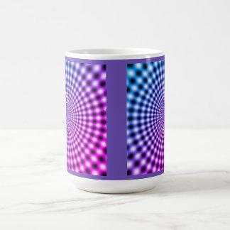 Purple Optical Illusion Coffee Mug