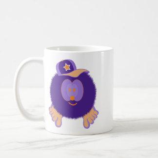 Purple Orange Baseball Cap Mug
