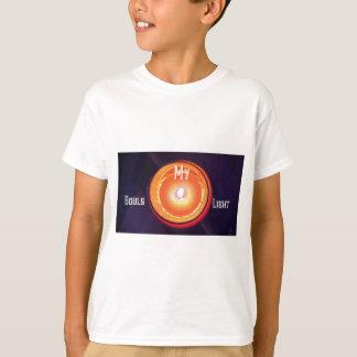 "Purple Orange ""My Souls Light"" Spiritual Design T-Shirt"