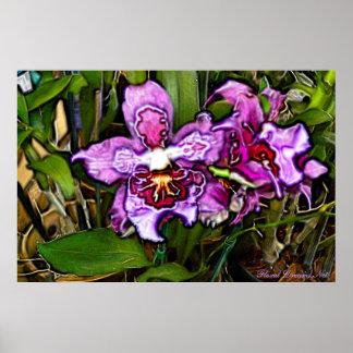 Purple Orchid Dream Print