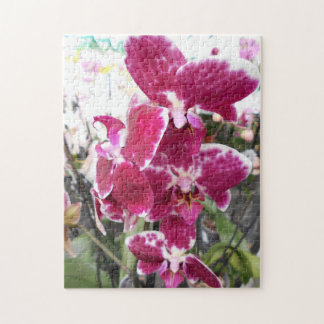 Purple Orchid Jigsaw Puzzle