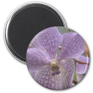 Purple Orchid Magnet
