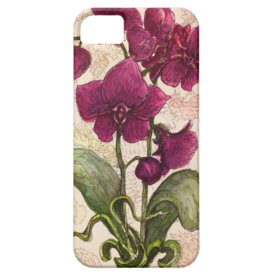 Purple Orchid – Mate Barely There iPhone 5/5S Case