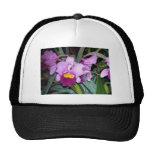 Purple Orchid Mesh Hats