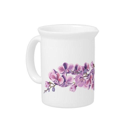 Purple Orchid Pitcher