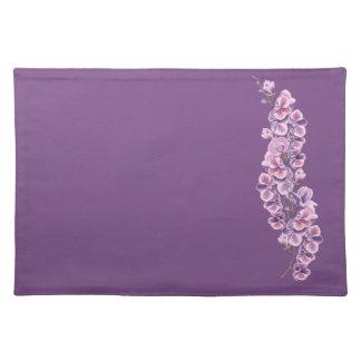 Purple Orchid place mat