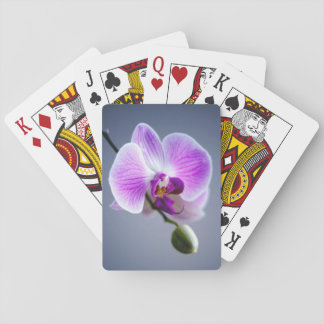 Purple Orchid Playing Cards - Beautiful Floral