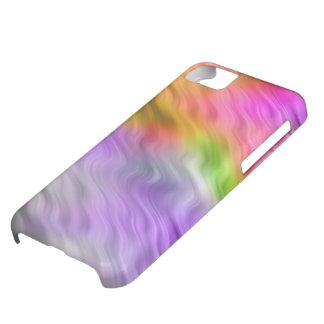 Purple Orchid Wavy Texture iPhone 5C Case