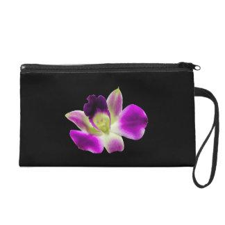 Purple Orchid Wristlet