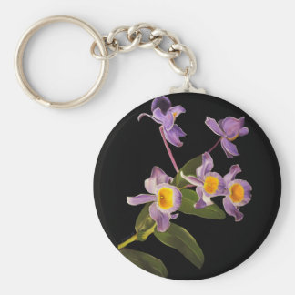Purple Orchids - Keychains