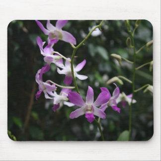 Purple Orchids Mouse Mat