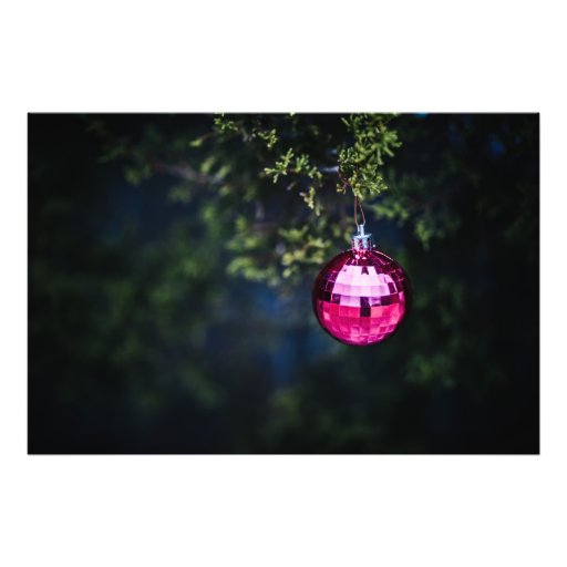 Purple Ornament Photo Art
