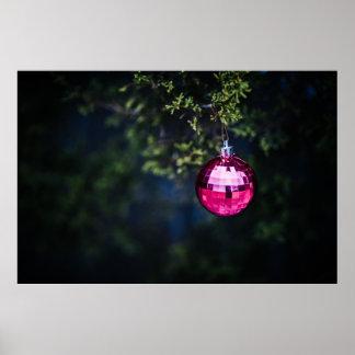 Purple Ornament Print