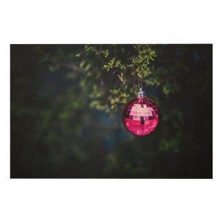 Purple Ornament Wood Prints