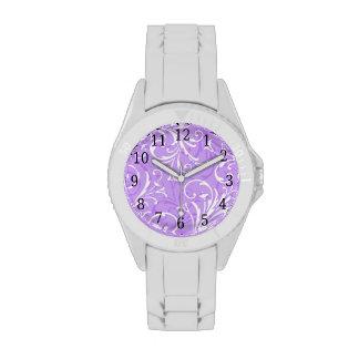 Purple Ornamental Watch